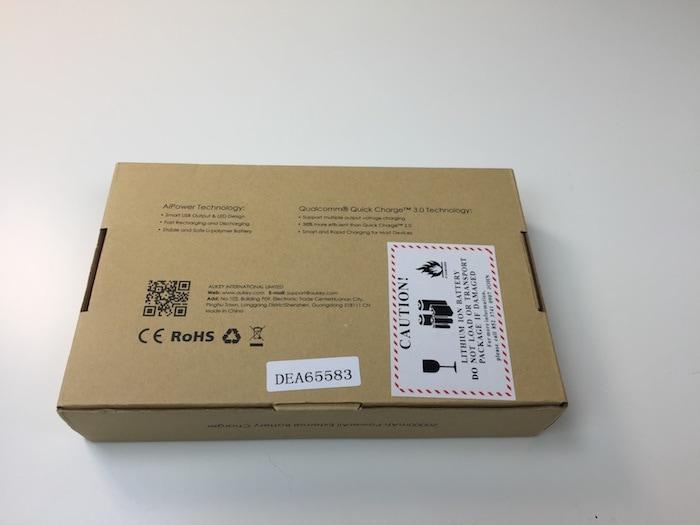 Aukey batería de 20.000mAhPB-T10 con Qucik Charge 3.0