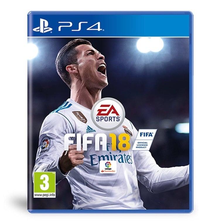 FIFA 18 videojuego en oferta