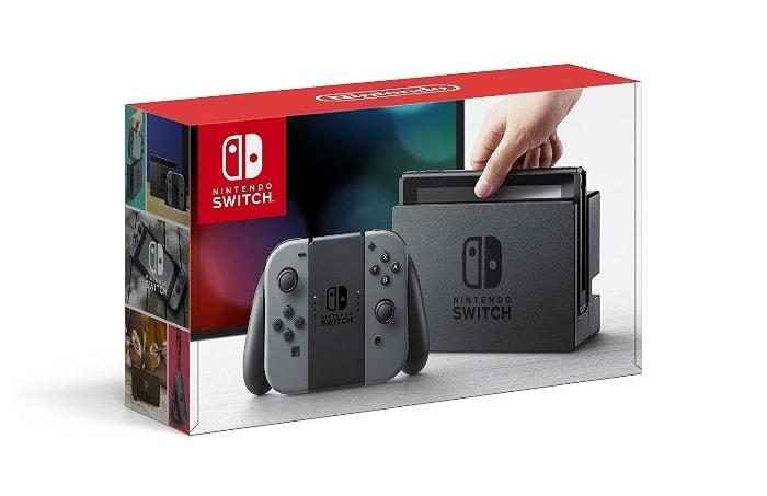 Nintendo Switch - Consola Color Gris