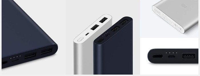 Xiaomi Mi Power Bank 2S, Batería Portátil 10000Mah