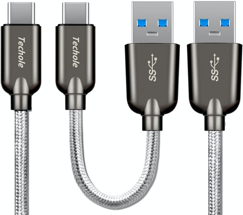 Techole: Cable Tipo C a USB 3.0 de Nylón