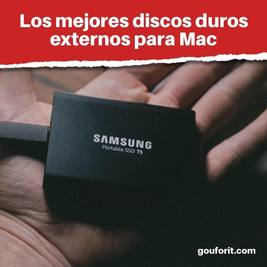 mejores discos duros externos para Mac