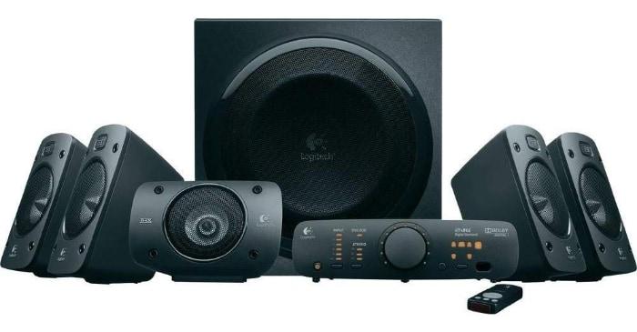 Logitech Z906 - El mejor sistema de altavoces 5.1 con sonido envolvente (500 W)