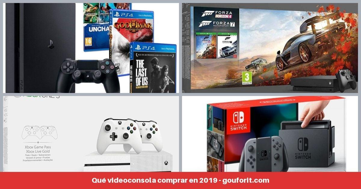 Nintendo Switch vs PS4 vs Xbox One: Qué videoconsola comprar en 2019