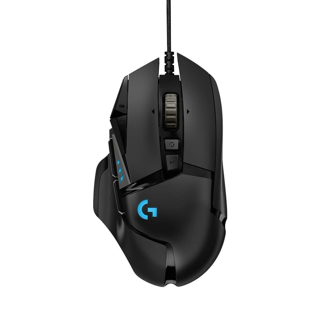 Logitech G502 HERO 16K - Ratón Gaming con Sensor Hero
