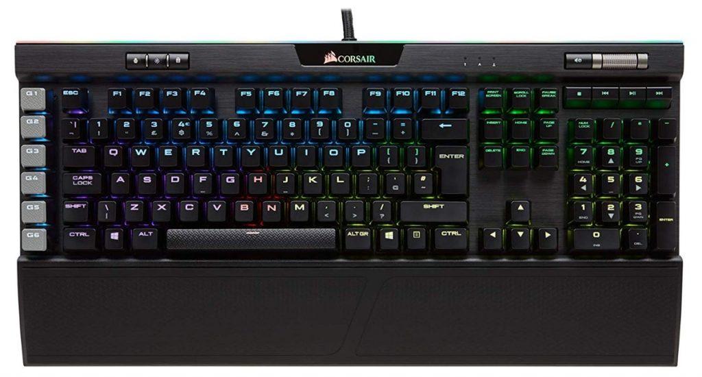 Corsair K95 RGB Platinum - Teclado mecánico Gaming premium