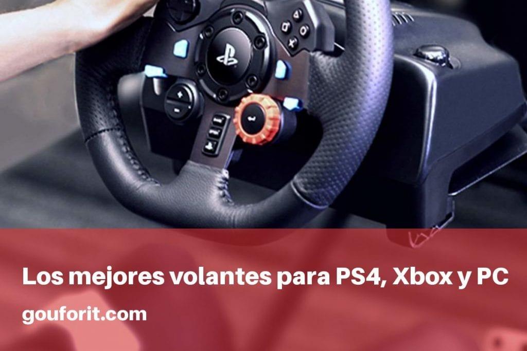 Los mejores volantes para PS4, Xbox One y PC