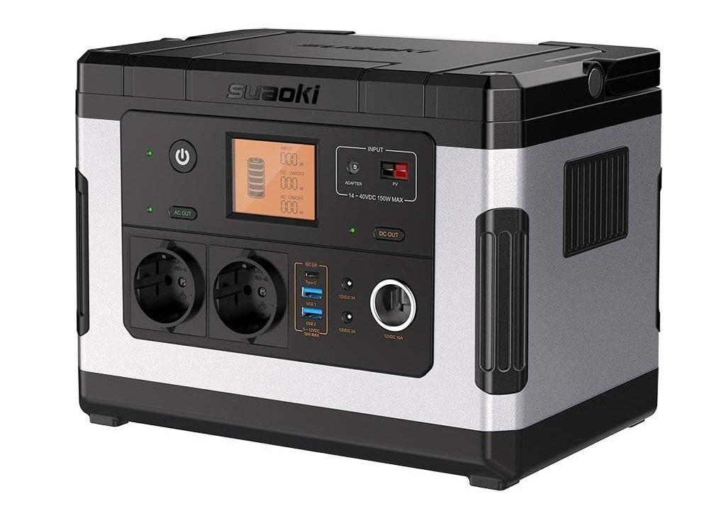 SUAOKI G500 - Generador Solar portátil de 500Wh