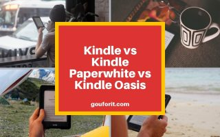 Kindle vs Kindle Paperwhite vs Kindle Oasis