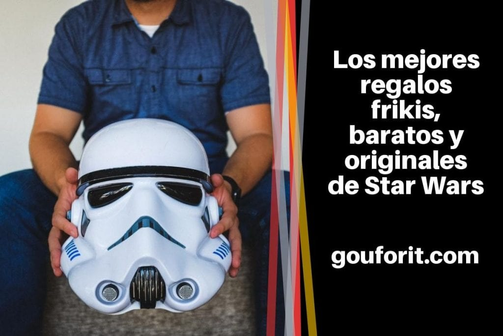 "regalos frikis, baratos y originales de Star Wars: ""May the Force be with you"""