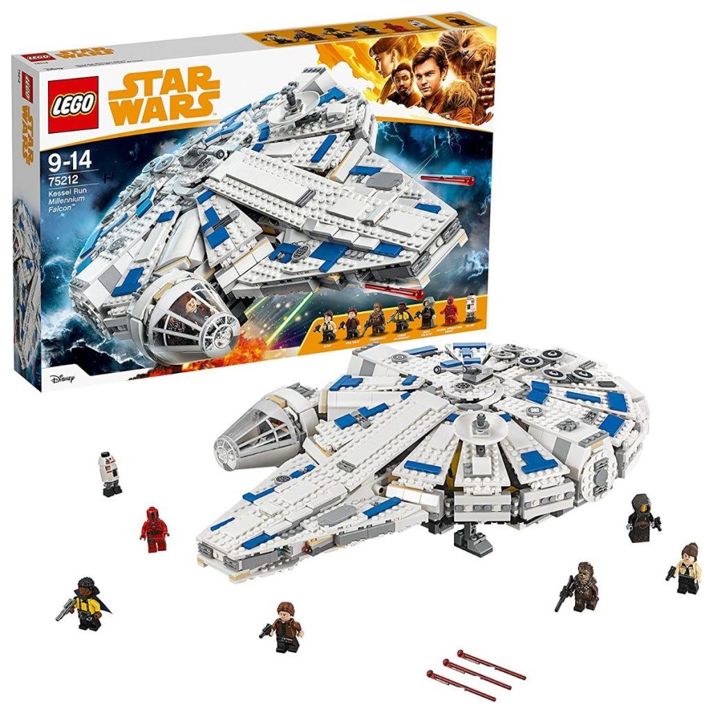 LEGO Star Wars - Halcón Milenario del Corredor De Kessel, Juguete de la Saga de la Guerra de las Galaxias