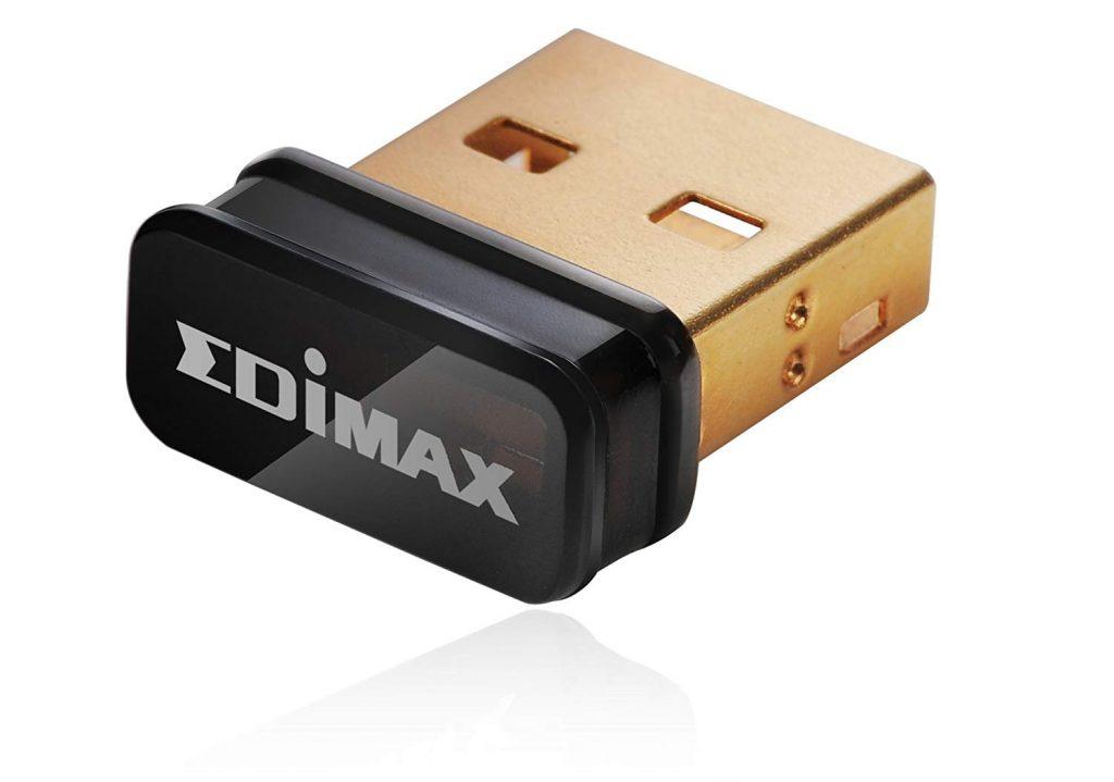 Edimax EW-7811UN - Adaptador de Red USB (Interfaz de Host USB, b/g/n, 150 MB/s)
