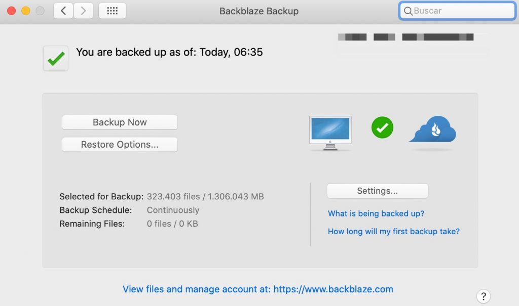 backblaze backup app