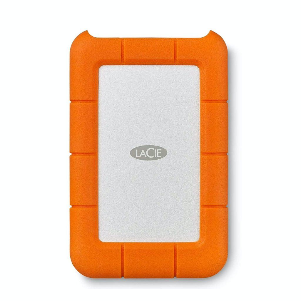 LaCie Rugged, USB-C, 1 TB, unidad de disco duro externa