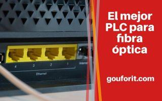 El mejor PLC para fibra óptica: Adaptadores de red powerline para tu casa
