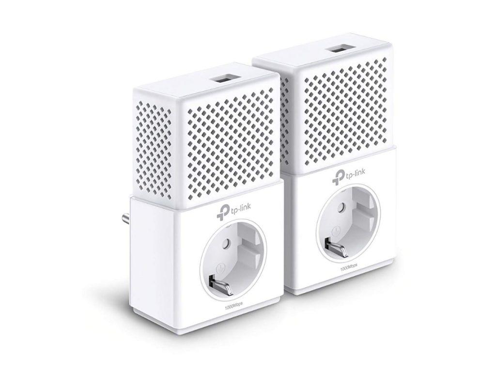 TP-Link TL-PA7010P KIT - 2 Adaptadores de comunicación por línea eléctrica (AV 1000 Mbps Gigabit)