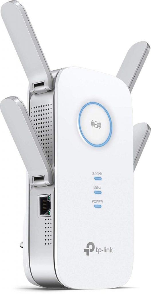 TP-Link RE650 AC2600 - Repetidor de red Wifi de 800Mbps y 2.4GHz + 5GHz: la mejor opción si necesitas mucho ancho de banda y gran señal WIFI