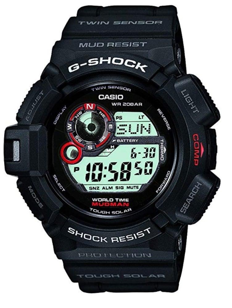 Casio G-Shock G-9300-1 Mudman: reloj solar con brújula