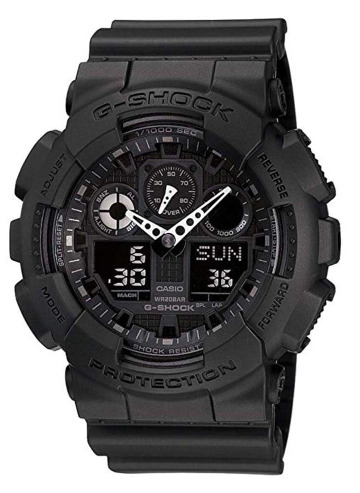 Casio G-Shock GA-100-1A1: la serie militar de Casio