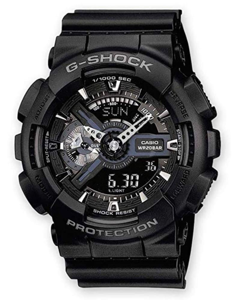 Casio G-Shock GA-110-1BER: reloj barato y fiable estilo militar
