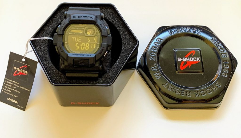 Casio G-Shock GD-350-1BER - Características