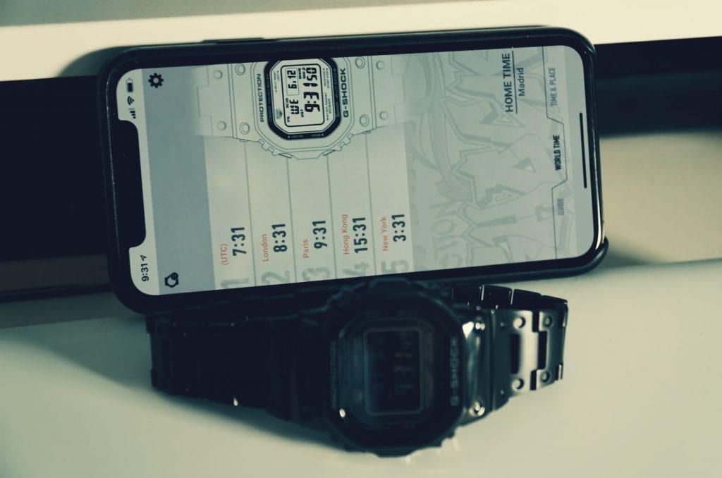 Casio G-Shock con bluetooth