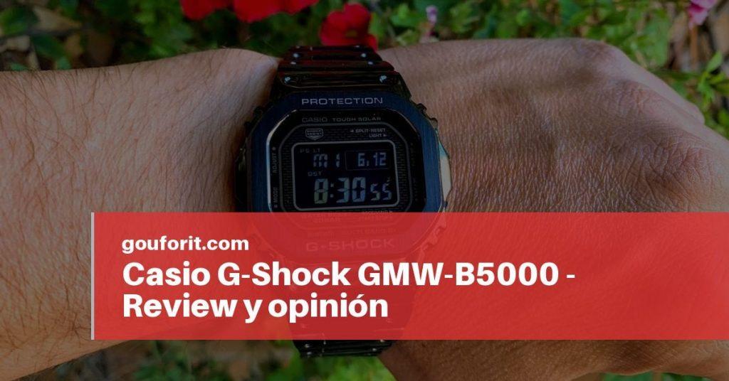 Casio G-Shock GMW-B5000 - Review y opinión