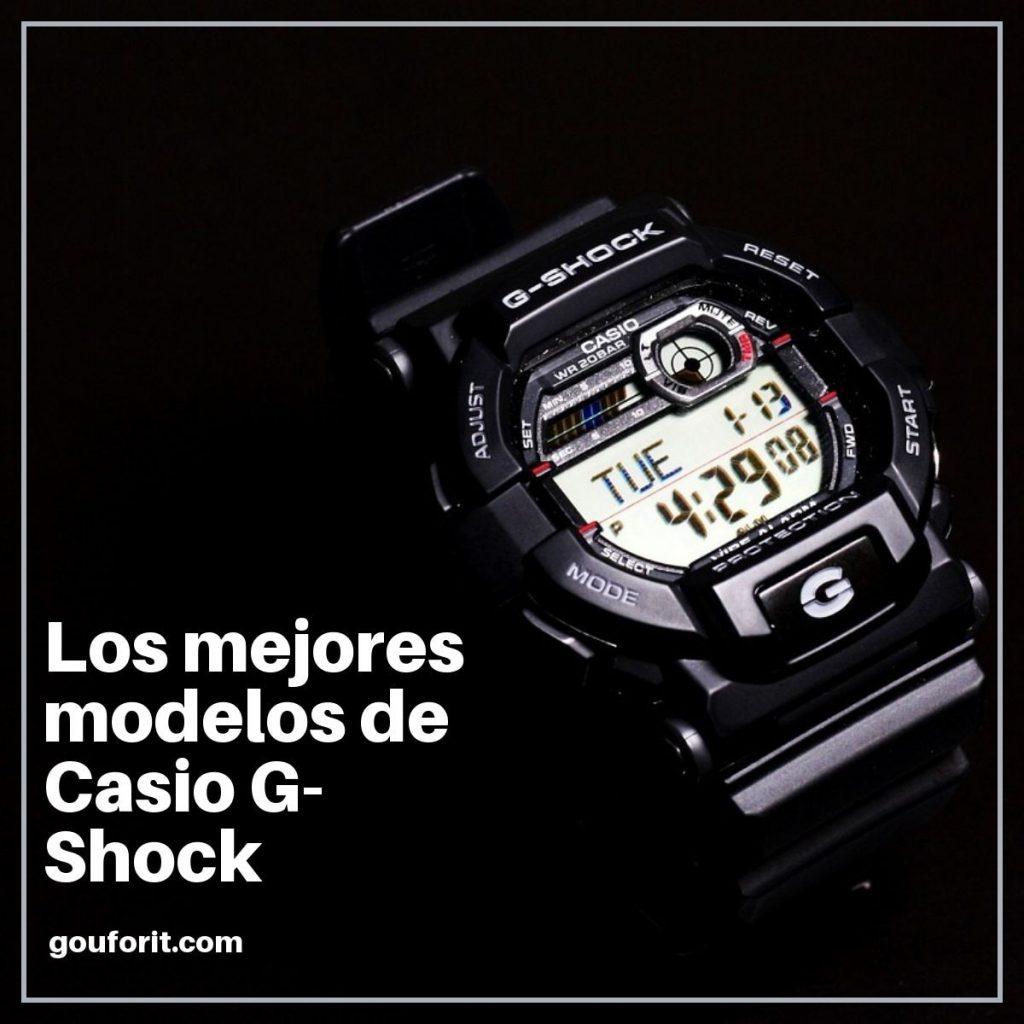los mejores modelos de Casio G-Shock