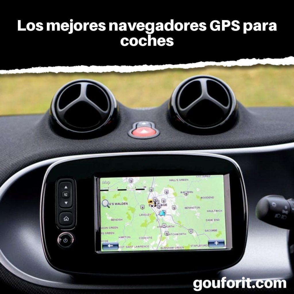 mejores navegadores GPS para coches