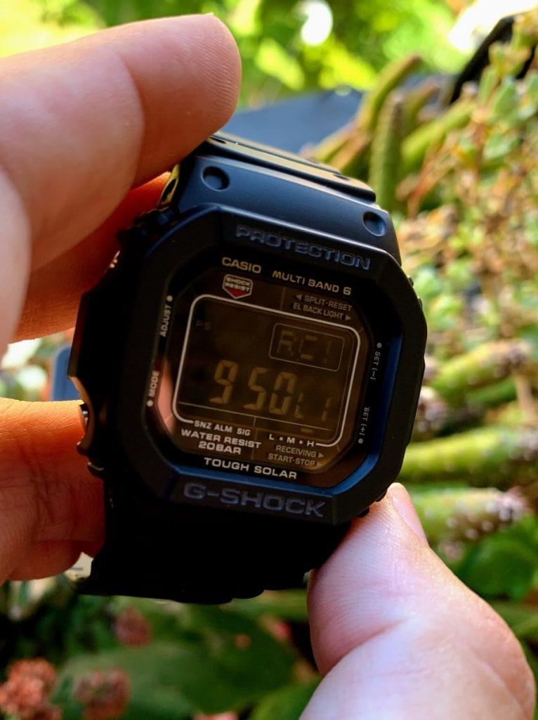sincronizar hora casio Gw-5610