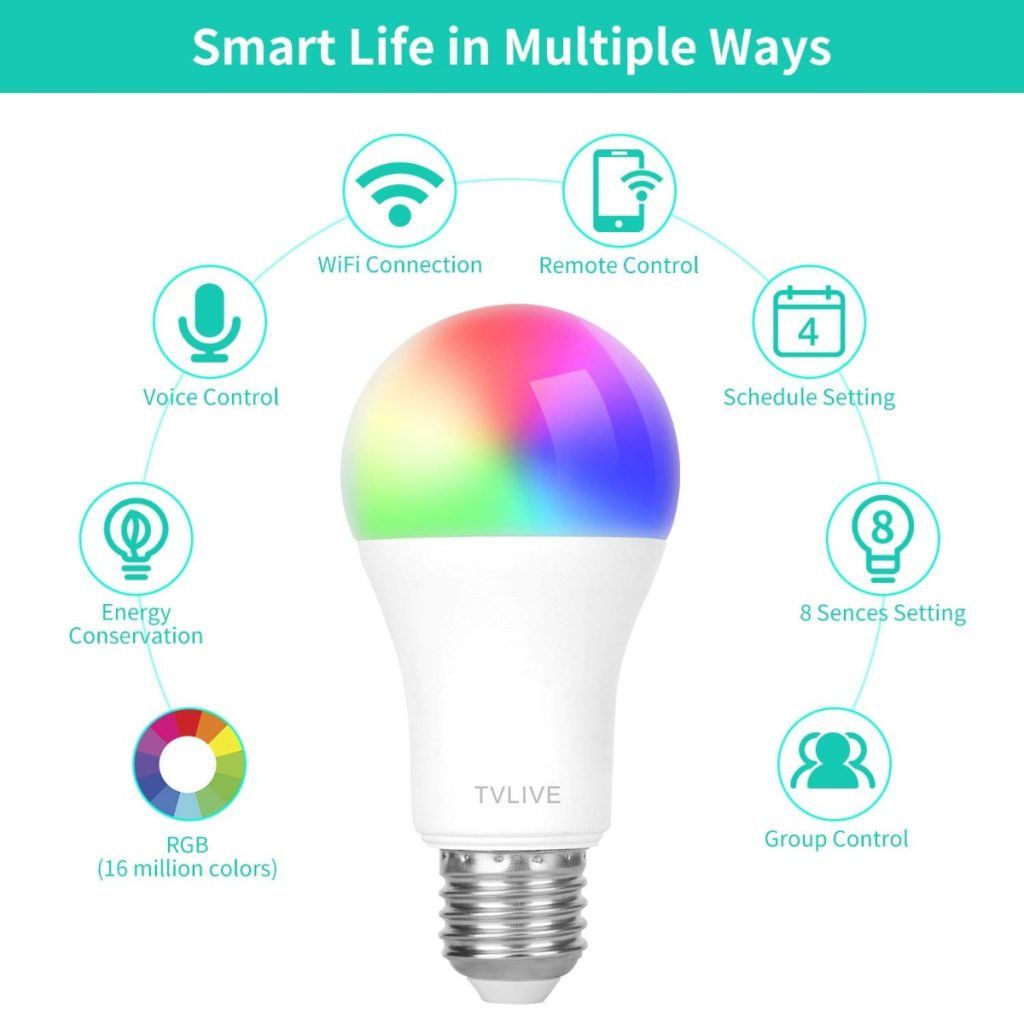 Bombilla LED Inteligente de TVLIVE
