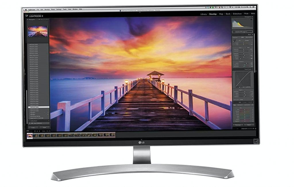 LG 27UD88-W - Monitor Serie 4K Ultra HD, IPS, 3840x2160 pixeles
