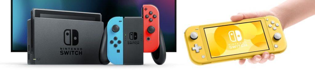 Diferencias entre la Nintendo Switch Lite y la Nintendo Switch