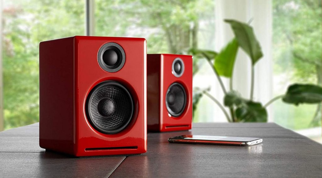 Audioengine A2+: altavoces wireless con DAC y amplificador de 24 bits