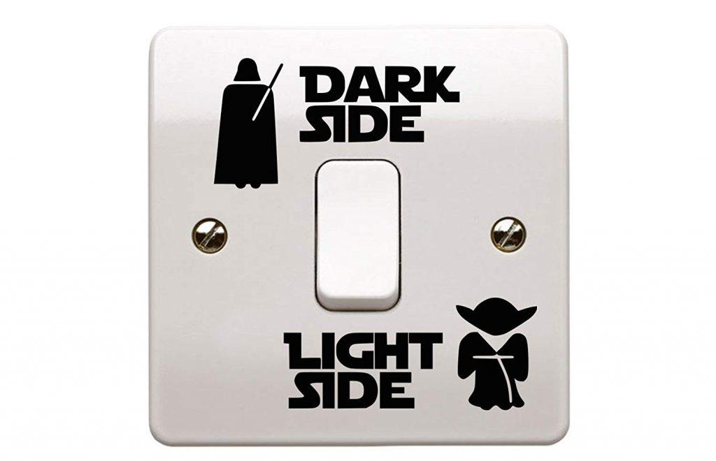 Pegatina de Star Wars para el interruptor de la luz