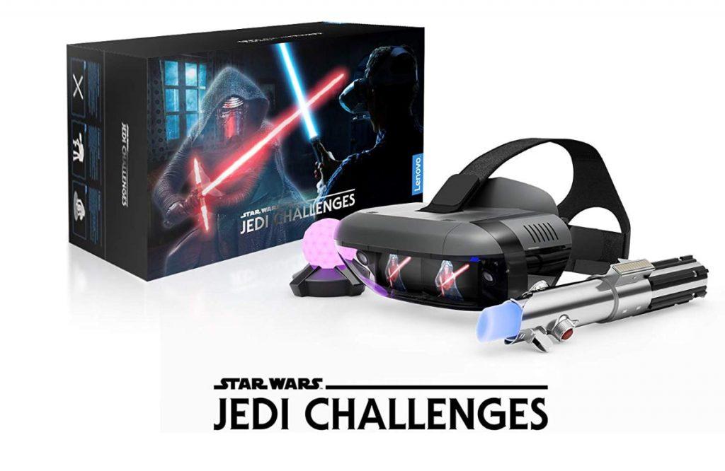 Lenovo - Desafios Jedi - Pack de realidad virtual (VR) con gafas de realidad aumentada