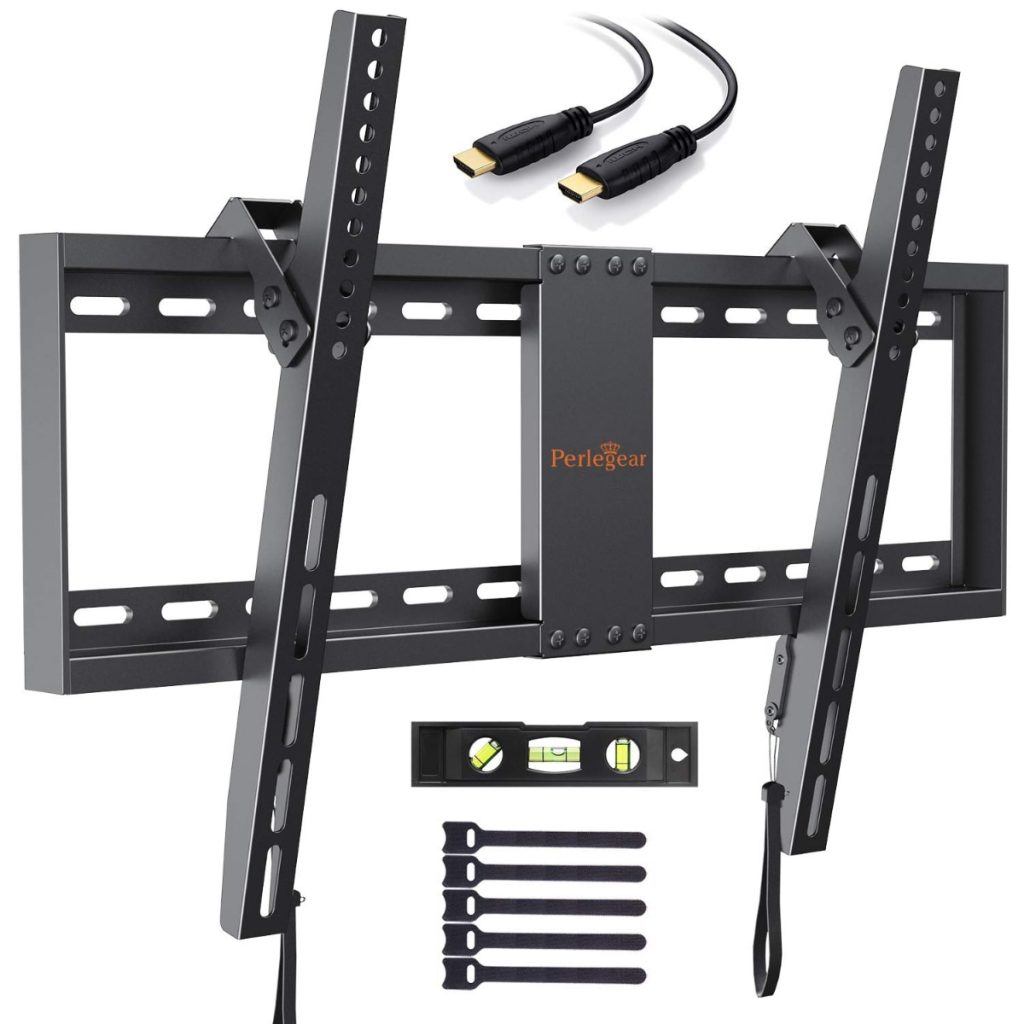 "Soporte de TV de pared articulado e inclinable para pantallas de 32-70"", hasta 60kg de Perlegear"