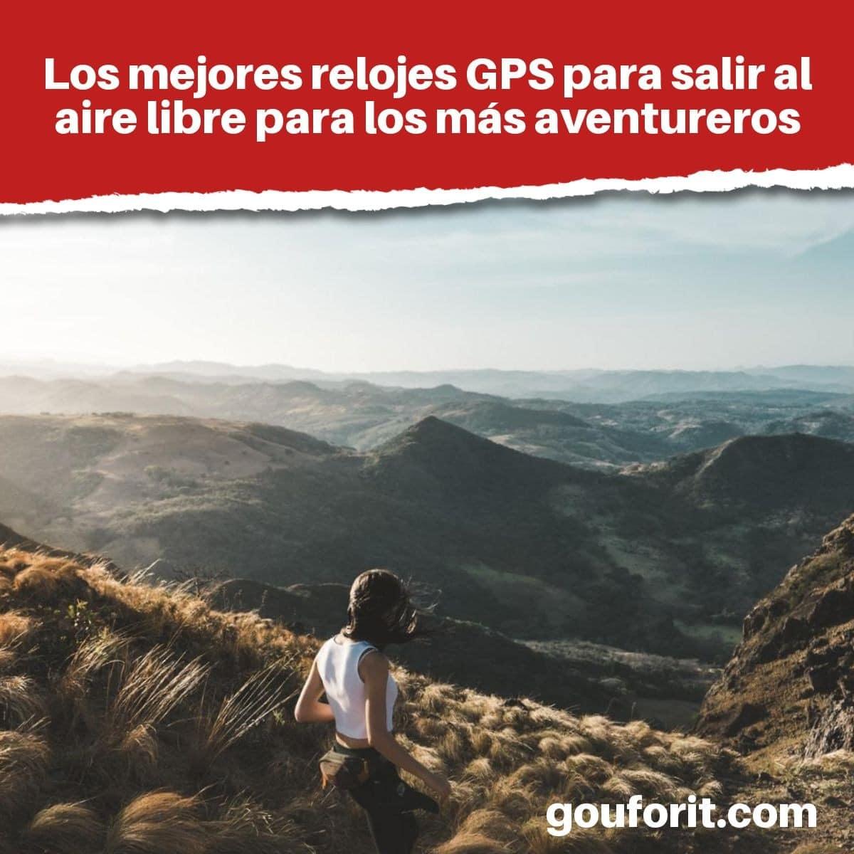 Los mejores relojes GPS para salir al aire libre