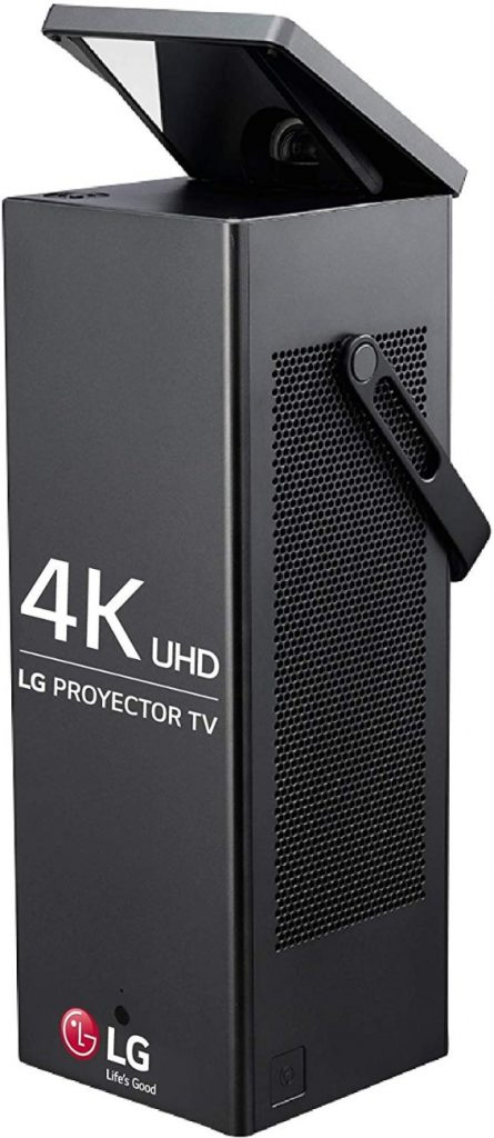 LG CineBeam HU80KS - Proyector TV 4K UHD- El mejor protector portátil