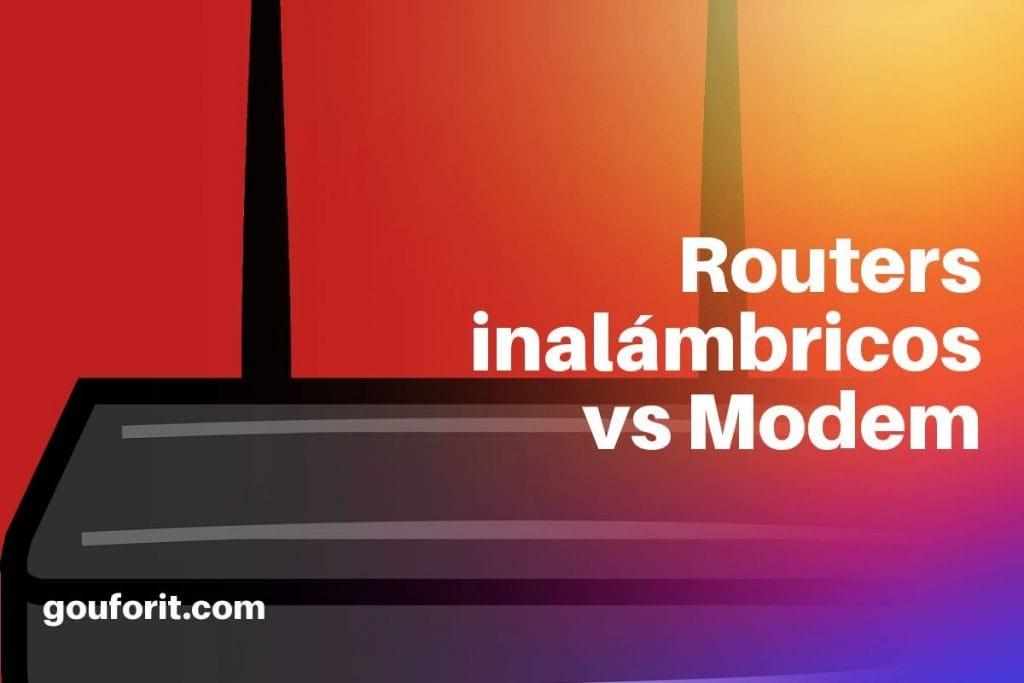 ¿Qué es un router inalámbrico? ¿En qué se diferencia de un módem?