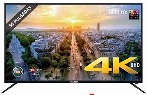 """TV LED INFINITON 50"""" INTV-50 4K UHD"""