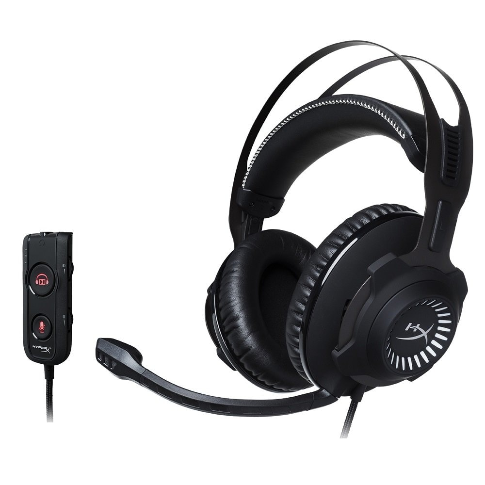 HyperX HX-HSCRS-GM Cloud Revolver S - Cascos de Gaming 7.1 para PC/PS4/Mac