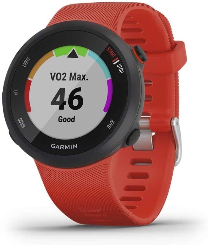 Garmin Forerunner 45/G - Reloj Multisport con GPS, Tecnología Pulsómetro Integrado