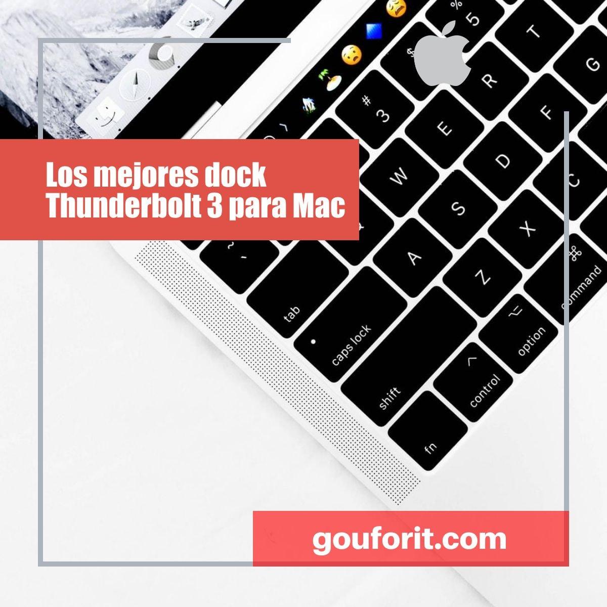 Los mejores dock Thunderbolt 3 para Mac