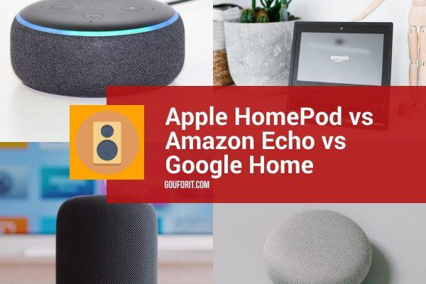 Apple HomePod vs Amazon Echo vs Google Home: los mejores altavoces inteligentes frente a frente