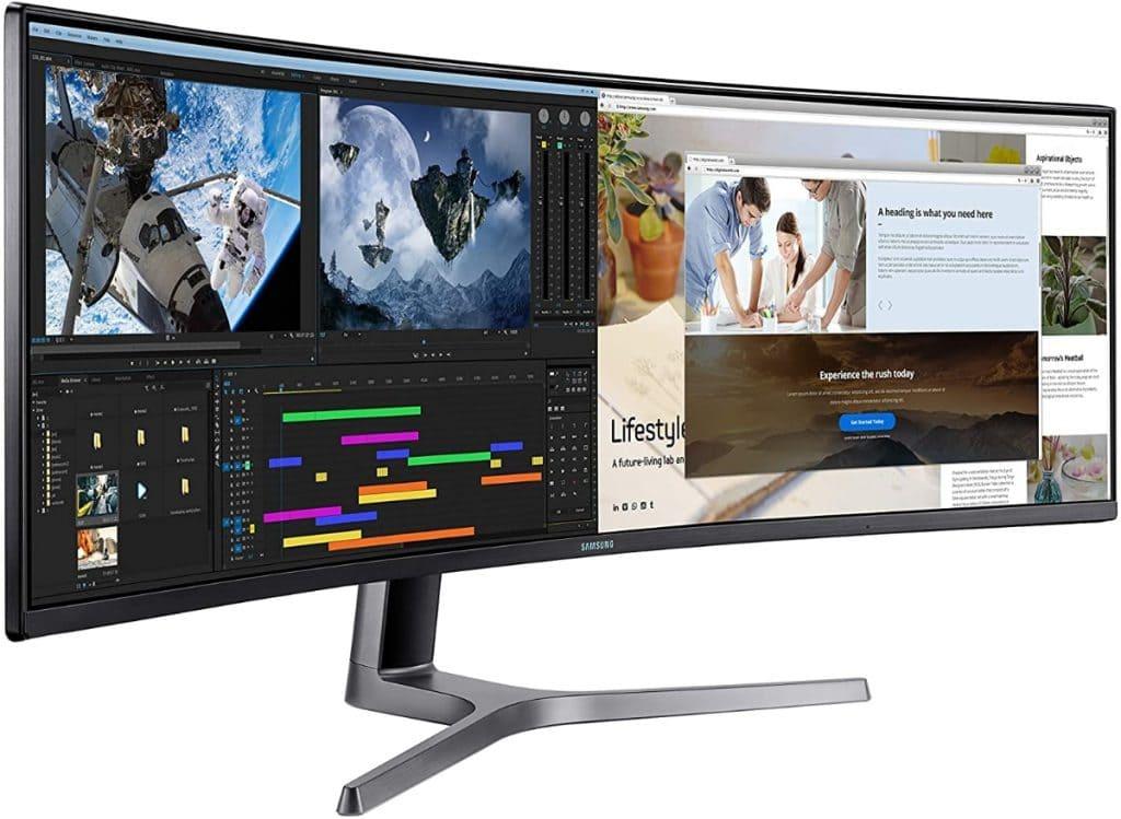 Samsung LC49RG90 monitor ultrawide