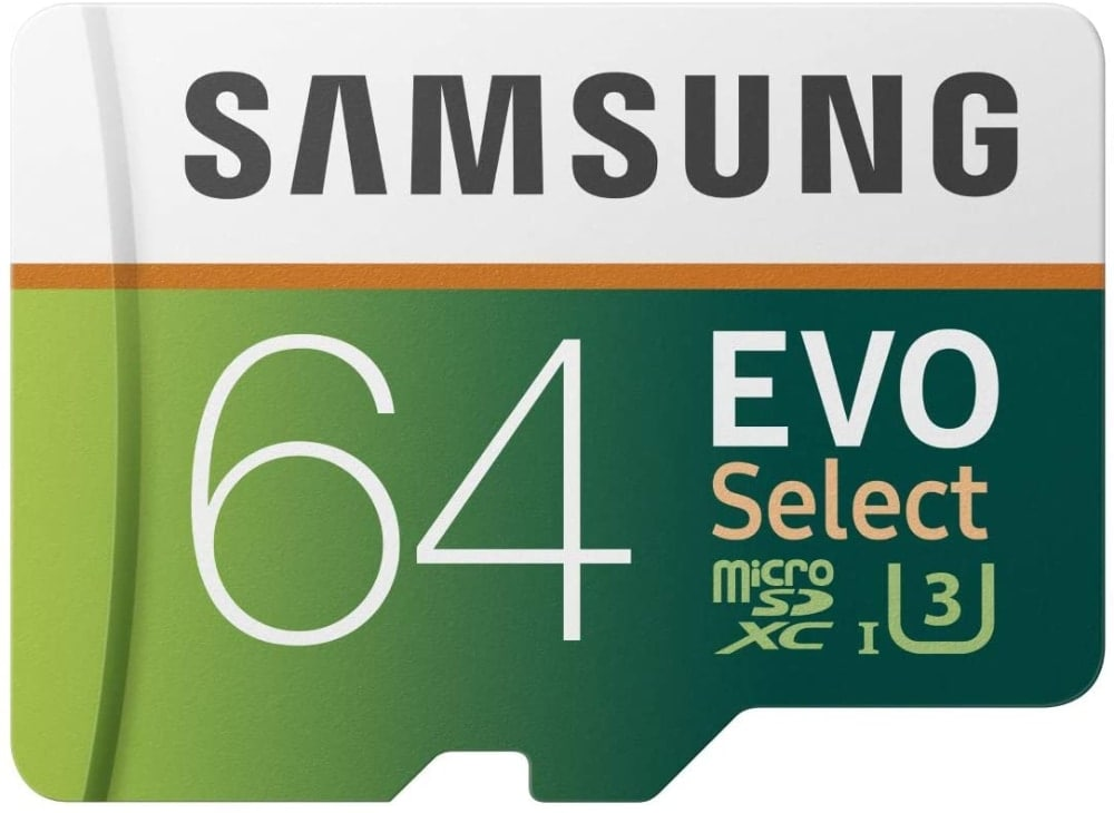 Samsung EVO Select - Tarjeta de Memoria microSDXC de 64 GB