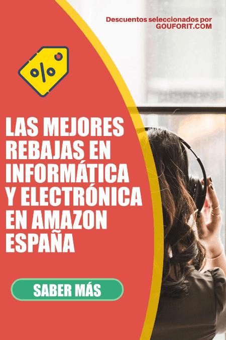 Las mejores rebajas en electrónica e informática de Amazon España