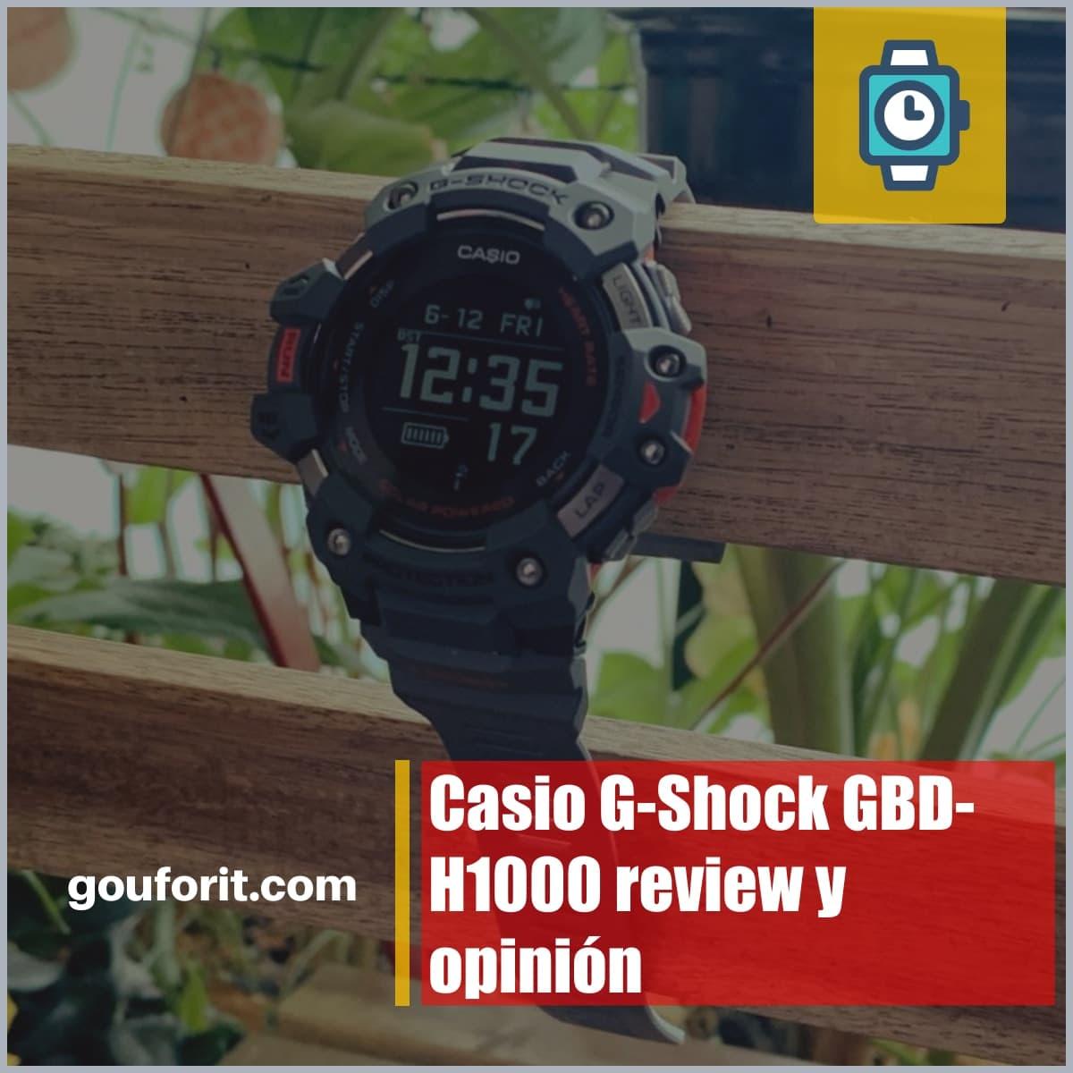 Casio G-Shock GBD-H1000 review y opinión