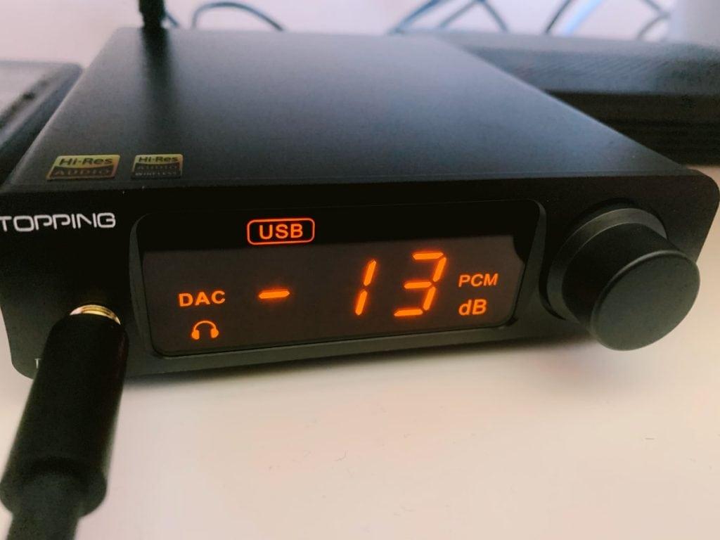 Topping DX3 Pro LDAC – DAC & Headphone Amp